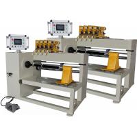 China PLC Automatic Coil Winding Machine , Handling Four Copper Or Aluminium Wires on sale