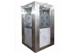 China L Type Door Direction Cleanroom Air Shower For 2 Person wholesale
