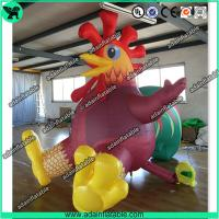 China Inflatable Rooster,Inflatable Chicken,Chinese New Year Inflatable Rooster Zodiac wholesale