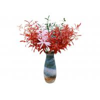 China Colorful Artificial Olive Branch , Artificial Tree Branches Decor Plastic + Iron Wire wholesale