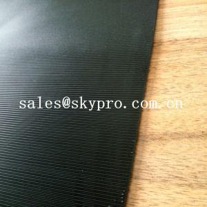 China 3.5mm Diamond Black Rigid Rational Construction Natural Shoe Sole Rubber Sheet wholesale