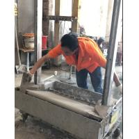 China 2018 Stainless Steel Render Brick Block Wall Plastering Rendering Machine with Gypsum cement clay morta wholesale