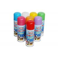 China Children's Party Tinplate Can TUV 250ml Artificial Snow Spray wholesale