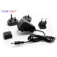 China 5V 2A  Interchangeable Power Supply Wall Mount Type Low Ripple Noise wholesale