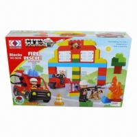 China Building Set, 75-piece Blocks, 44.5 x 8.5 x 28.5cm Box Size wholesale
