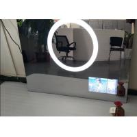 15.6 Inch Waterproof Mirror Tv HD , Fog Proof Bathroom Mirror Television