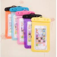 China Cute Carton Phone Protective Pouch Shell Case Waterproof Outdoor Beach Bag wholesale