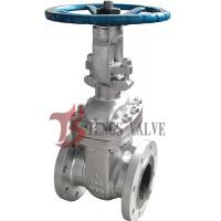 China Flanged Cast Steel Gate Valve ASTM A216 WCB With Rising Stem RS 150LB on sale