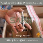 China Wedge Anchor/ Through Bolt/ Stud Anchor 304(A2) 316L(A4) wholesale