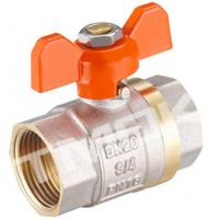 China 1/2 inch brass ball valve with brass body stainless steel butterfly handle and CE approved on sale