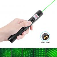 China Power Saving Green Laser Pointers Match Adjustable Focal Length With Starry wholesale