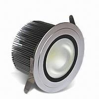 China SMD LED Downlight with 120 or 230V AC Voltage, 15W Power and ≥20,000-hour MTBF wholesale