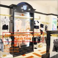 China clothing store display design/clothing display racks wholesale