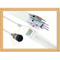 China Kenz PC 104 Ecg Monitor Cable One Piece Ecg Cable 10 Leadwires Needle IEC wholesale
