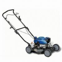 China Lawn Mower with 118mL Displacement, 18 Inches Size, Hand-operated wholesale