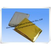 China Small First Aid Kits Space Emergency Mylar Blanket Thermal Foil PET Film wholesale