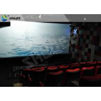 China Sound Vibration Motion Imax Movie Theater Red For Shopping Center wholesale