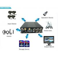 China 4ch Multifunctional SD Card Mobile DVR 720p 3g 4g Wifi Mobile Bus Dvr With Gps wholesale