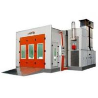 China Turbo Fan Electrical Heat Downdraft Auto Spray Booths For Automobile Painting on sale