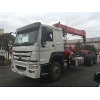 China Commercial 12 Ton Boom Truck Crane 6x4 Driving Type 20.5m Max Lifting Height wholesale