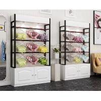 China Colorful Underwear Clothing Display Racks With Cabinet 1200*400*2000mm wholesale