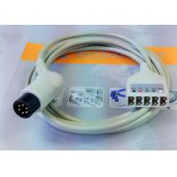 China 6 Leads Compatible ECG Monitor Cable , 6 Pin Ecg Cables And Leadwires wholesale