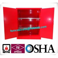 China Industrial Combustible Storage Cabinets For Paint / Chemical Liquid wholesale