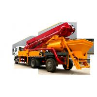 China 34m brand new single bridge concrete placing boom pump truck wholesale