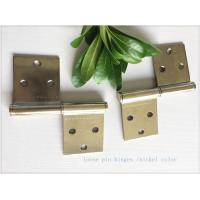 China Removable Lift Off Cabinet Hinges  Folding Middle East Type Two Pieces Small Nickel Plated wholesale