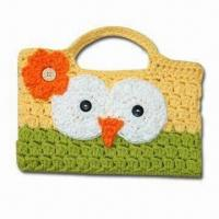 China Fashionable Hand Crochet Bag, Customized Designs are Welcome wholesale