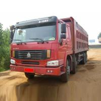 China 30 - 40 Tons SINOTRUK Heavy Duty Dump Truck 371HP 8X4 For Loading Construction Material wholesale