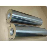 China Large - Scale Printing Equipment Industrial Steel Rollers , Paper Emboss Roller wholesale