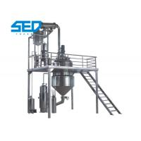 China Automatic Herbal Extraction Equipment Concentration Production Line Stainless Steel Made wholesale