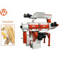 China 22 Kw 3 Mm Pellet Chicken Feed Pelletizer Machine For Quail Feed Manufacturing on sale