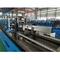 China High Speed Hat Omega Purlin Angle Roll Forming Machine 10.6-2.0mm By Chain wholesale