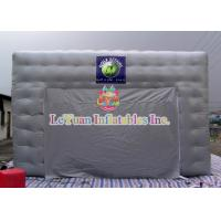 China Logo Movable Inflatable Army / Lawn Tent With Silk - Screen Printing wholesale