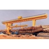 China Electric Grab Bucket Overhead Gantry Crane 5 Ton , Double Girder Overhead Crane wholesale