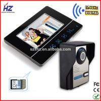 China motion detection hands-free memory video door phone wholesale
