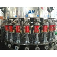 China High Speed Pop Aluminum Beverage Can Filling Machine Pneumatic Control 12,000 Cans/Hour wholesale
