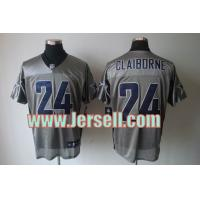 China Nike NFL Dallas Cowboys 24 Claiborne Grey Shadow jersey wholesale