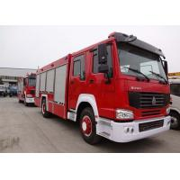 China Water Tank Fire Fighting Vehicles 8-12 CBM 290 HP Emergency Rescue Vehicles on sale