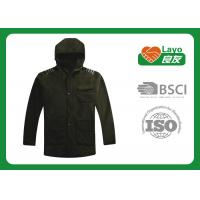 Layo Olive Outdoor Fleece Jackets For Hunting / Hiking / Camping