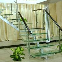 China Flooring Safety PVB Laminated Glass Hollow / Solid Structure Customed Size wholesale
