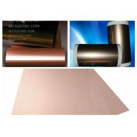 China ROHS Single Side FCCL Copper Clad Laminate with 0.5 ~ 2.0mils thickness PI Film Mil Modified Epoxy Adhesive wholesale