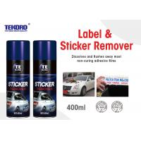 China Home And Auto Use Label & Sticker Remover For Metal / Glass / Vehicle Surfaces wholesale
