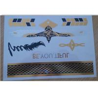 China A5 format Metallic Temporary Tattoo for adults swimming suit wholesale