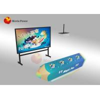China FRP + Steel Interactive Wall Projection Games AR Painting Fish For Kids wholesale