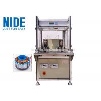 China Single Flyer Automatic Coil Winding Machine 2 Stations For Fan Motor on sale