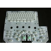 China Eco Friendly Flexible Silicone Rubber Pc Keyboard With Colored Key Tops on sale