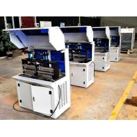 Buy cheap Dual-card Punching Machine Semi Auto Electrical PVC Card Cutting Machine Productivity,3000 Cards / Hour from wholesalers